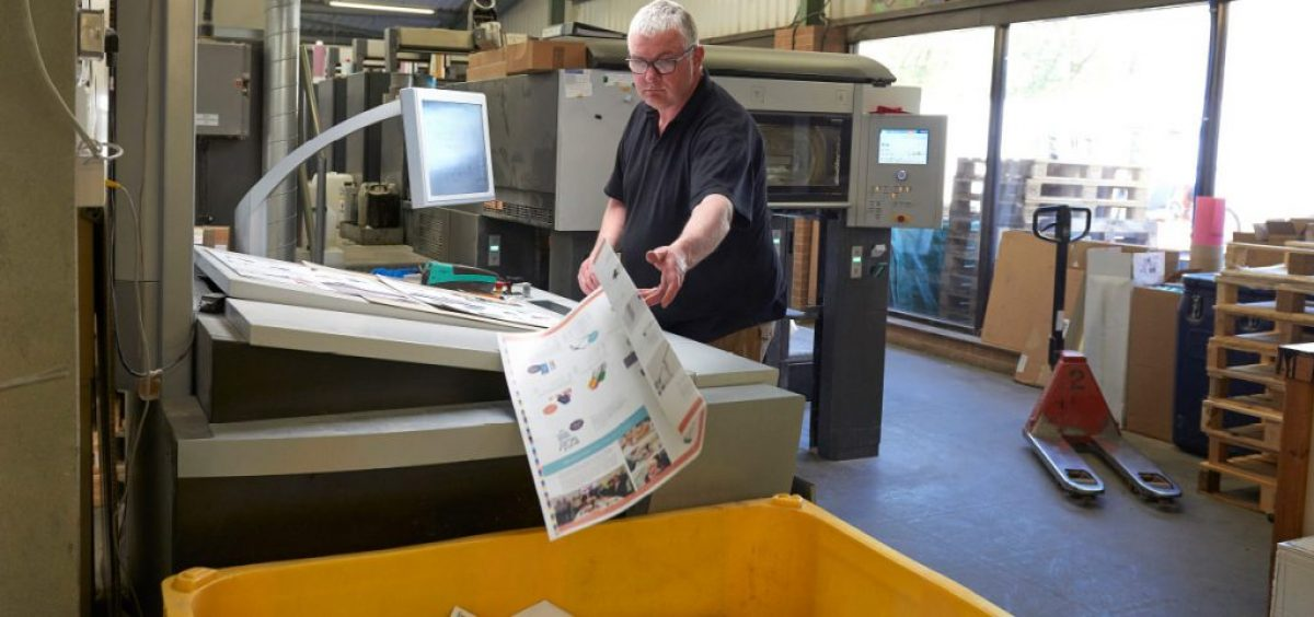 SO Efficient Dealing with your print waste recycling