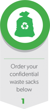 Order your confidential waste sacks below