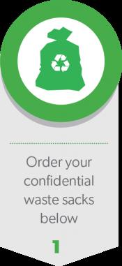 Order your confidential waste sacks below