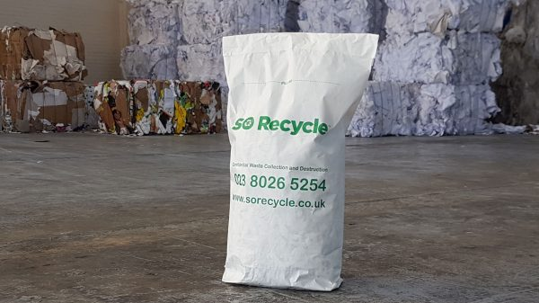 Document Shredding Sacks