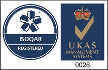 ISOQAR Registered and UKAS Management Systems